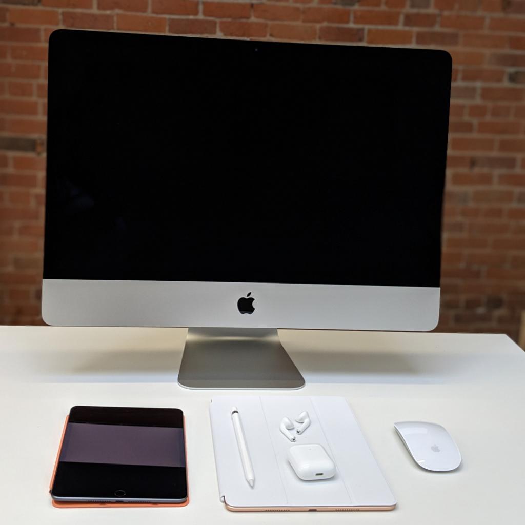 The new iMac, iPad Mini, Apple Pencil, Airpods 2, and iPad Air